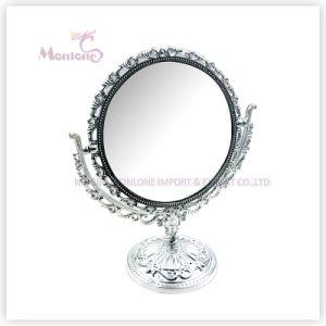 Antique Silver Doubel Side Decorative Makeup Mirror Glass pictures & photos