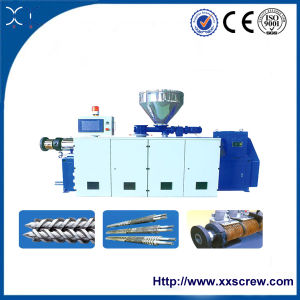 High Efficiency Twin Double Screw Extruder (SJZ) pictures & photos