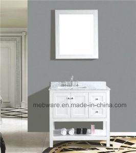 Modern Solid Wood Oak Bathroom Vanity Bathroom Furniture pictures & photos