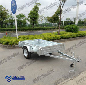 Equipment Trailer Small ATV Trailer Shipping From China (SWT-BT75-L) pictures & photos