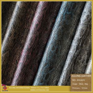 Snake Surface Design Cloth Fabric (BY014) pictures & photos