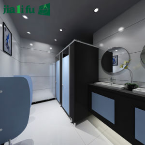 Jialifu High Pressure Laminate Durable Bathroom Cabinet pictures & photos