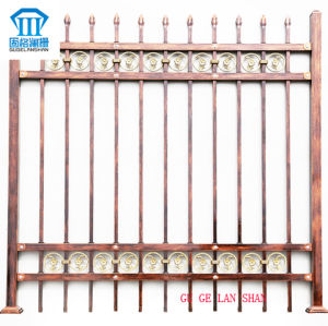 Rust-Proof/Antiseptic/High Quality Wrought Zinc Steel Fence pictures & photos