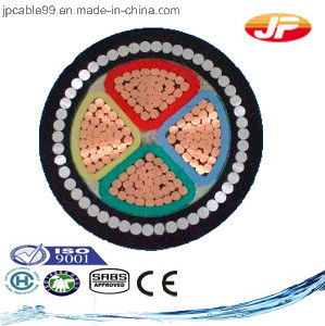 Medium Voltage XLPE Insulated Unarmoured Three Cores Power Cable pictures & photos
