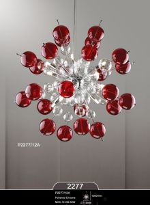 Hot Sale Home Hotel Bar Elegant Modern Glass Pendant Lamp (2277-12A) pictures & photos