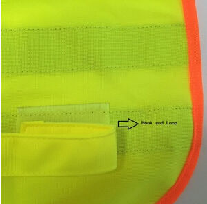 High Visibility Safety Vest with Certification (DFV1037) pictures & photos