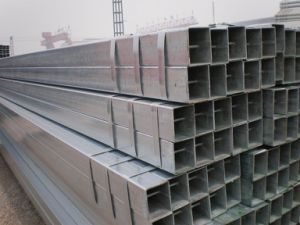 50mm Hot Dipped ERW Welded Square Steel Pipe pictures & photos