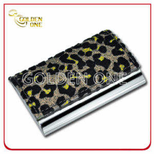Fashion Animal Print Pattern PU Leather Card Holder pictures & photos