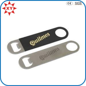 Stainless Printed Logo Long Handle Beer Bottle Opener pictures & photos