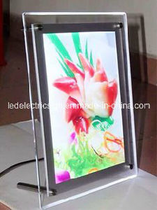 Table LED Acrylic Photo Frame Picture Light Box with Acrylic Light Box for LED Sign pictures & photos