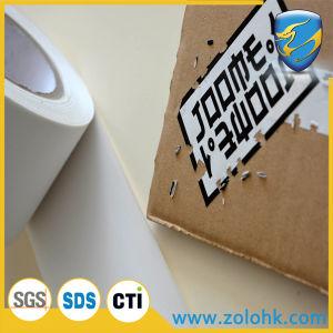 Plain White Destructible Eggshell Sticker Label of A4 Size for Anti-Counterfeit Usage
