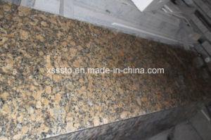 Giallo Fiorito Granite Slabs for Flooring/Wall Cladding/Countertops pictures & photos