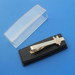 Customized Logo Tie Clip Packed in a Plastic Box pictures & photos