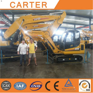 CT85-8b (37m3 & 8.5t) Hydraulic Backhoe Crawler Excavator pictures & photos