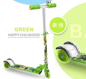 Kids Kick Scooter with 100mm PU Wheel (BX-3M005) pictures & photos
