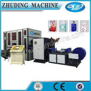 Automatic Nonwoven Box Bag Making Machine with Handle pictures & photos