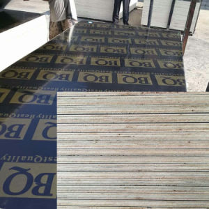 Textured Film Faced Plywood Non-Slip Anti-Skid Construction pictures & photos