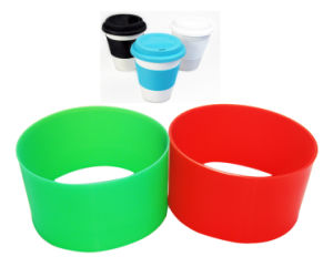 Eco- Friendly Heat Resistant Anti Slip Silicone Cup Sleeve pictures & photos