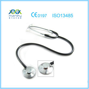 Medical Single Head Stethoscope (MN--MS010) pictures & photos