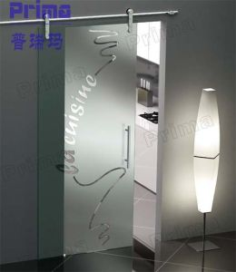 Frosted Glass Sliding Door for Your Bathroom pictures & photos