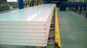High Quality Color Steel PU Sandwich Panel pictures & photos