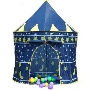 Castle Tent Camping Portable Folding Children Outdoor Home Children Play Tent
