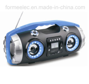 MP3 CD Combo Boombox Bluetooth Portable CD Player with Subwoofer RMS40W pictures & photos