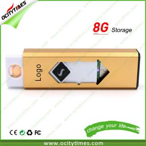 Metal Rechargeable Battery Electronic Cigarette Lighter with USB pictures & photos