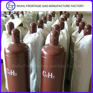 Seamless Steel Gas Cylinder 40 Lt Acetylene pictures & photos