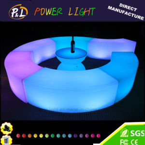 Bar Furniture Outdoor Party and Event Decor LED Bench pictures & photos