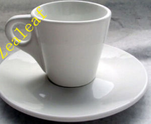 Zl0717-5 3oz Ceramic Cup Saucer Coffee Set Cup Coffee Cup Saucer