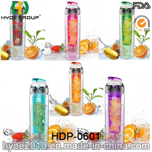 750ml Tritan Infuser Water Bottle, BPA Free Plastic Fruit Infusion Water Bottle (HDP-0601) pictures & photos