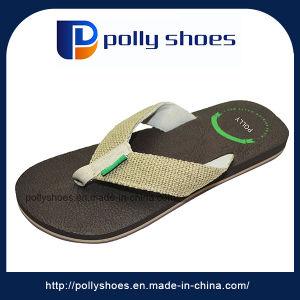 Summer New Designs Beach Sandal Flat Men Flip Flop pictures & photos