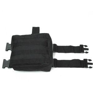 Anbison-Sports Military Tactical Molle Drop Leg Panel Waist Pouch Bag pictures & photos