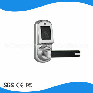 RFID Electric Standalone Door Lock for Apartment +Card+Deadbolt Door Lock with Remote Control Knobs Open pictures & photos