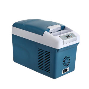 Mini DC Compressor Refrigerator 15liter DC12/24V, with AC Adaptor (100-240V) for Car, Yacht, Office, Home Use pictures & photos