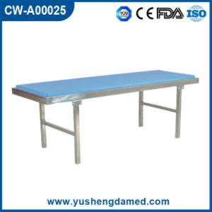 Medical Bed Furniture Metal Hospital Patient Examination Table Cw-A00025 pictures & photos