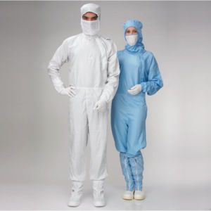 Cleanroom Clothes ESD Garment Anti-Static Overall Autoclavable Cleanroom Jumpsuit pictures & photos