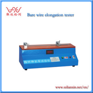 Bare Metal Full Automatic Wire Elongation Testing Machine Lx-8803 pictures & photos