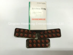 GMP Certificated Pharmaceutical Drugs, High Quality Diclofenac Tablets, Diclofenac Sodium pictures & photos