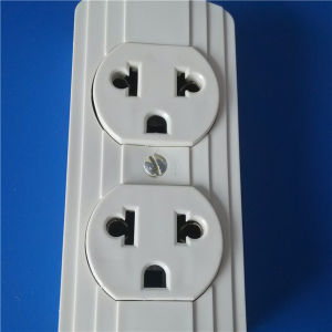 South America 3 Line ABS Wall Switch Socket (W-042) pictures & photos