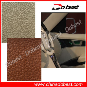PU Upholstery Leather for Car and Bus pictures & photos