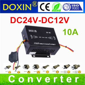 CE Approved 24V 12V Doxin DC Step Down Transformer Converter with Acc pictures & photos