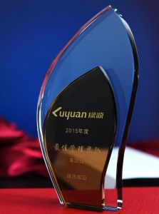 Custom Clear Crystal Award Trophies Wholesale pictures & photos
