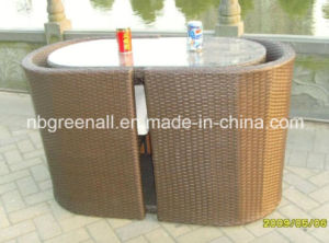 Outdoor / Indoor Rattan Used Coffee Table Sets pictures & photos