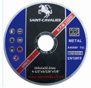"Ultra Thin Cutting Disc for Metal 4.5""X5/128""X7/8"" pictures & photos"