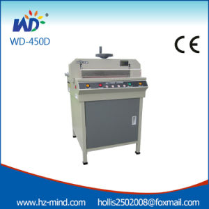 Electric Paper Machine Paper Cutting Machine (WD-450D) pictures & photos