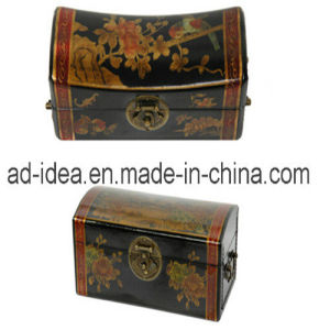Classic Wood Jewelry Banner Box with Lock (SDF-89) pictures & photos