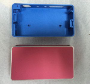 High Precision CNC Machining Aluminum Cover of Electronic Product with Color Anodizing pictures & photos