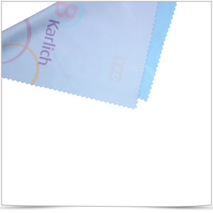 Hot Transferred Printing Microfiber Sunglasses Cleaning Cloth pictures & photos